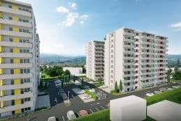 Ap.3 camere, 2 bai, 63900 euro tva 5% inclus
