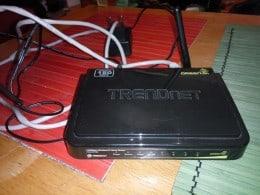 Router modem wireless Trendnet 150